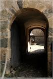 Weg zum inneren Burghof