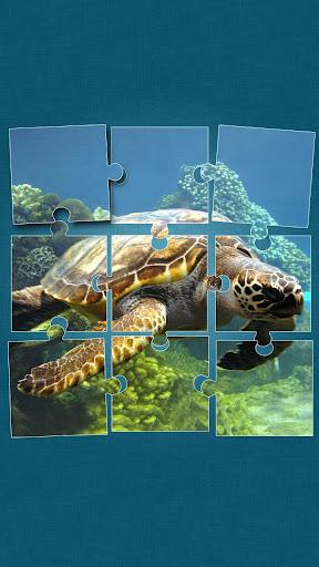 海中で ジグソーパズル