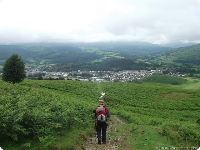 approaching the fleshpots of Machynlleth