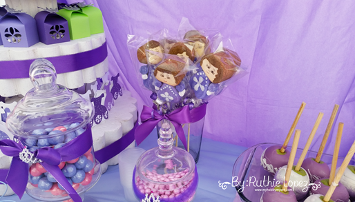 Silverware decoration - SofiaThe First - Birthday Party - Ruthie Lopez 2