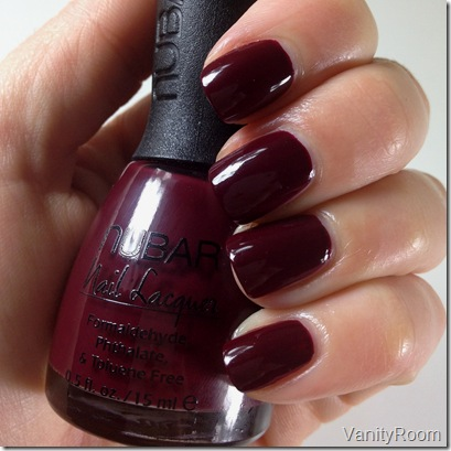 Vanityroom Pinot Moire By Nubar Nail Lacquer