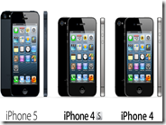 Differenze tra iPhone 5 e iPhone 4S e iPhone 4