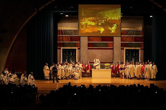 SENATUS. El Senat romàProjecte PHOENIX (Tarragona) Tàrraco Viva, el festival romà de Tarragona.Tarragona, Tarragonès, Tarragona
