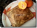 14 - Eggless Orange Coffee Marble Cake