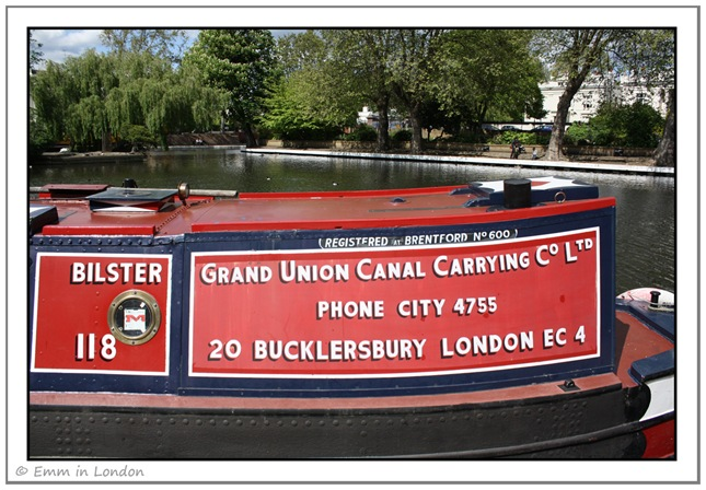 Grand Union Canal Carrying Co - Little Venice