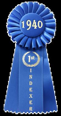 1940年人口普查第一索引器奖