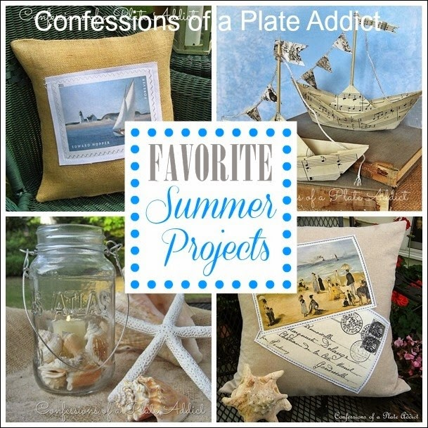 CONFESSIONS OF A PLATE ADDICT Fun and Easy Summer Projects