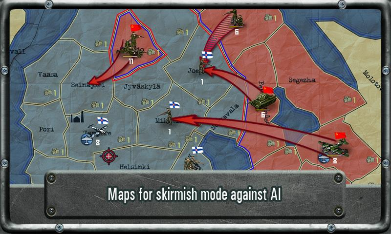Strategy & Tactics: WW II - screenshot