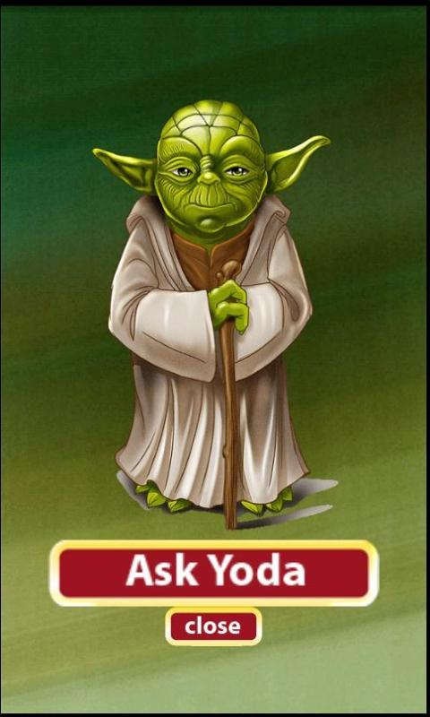 ASK YODA- screenshot