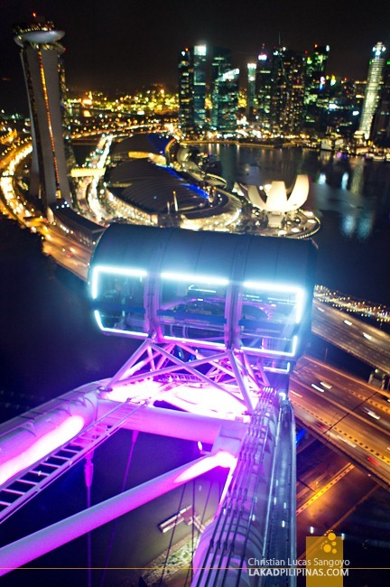 SINGAPORE | Flying High at the Singapore Flyer | Lakad ...
