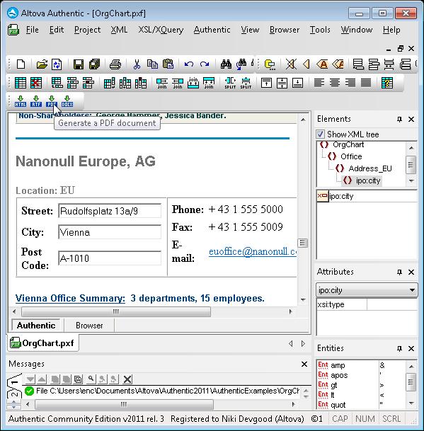 DL portable version for win Altova Authentic Community