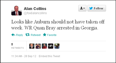 Twitter - fox6alancollins- Looks like Auburn should not ... 2012-09-28 11-55-27