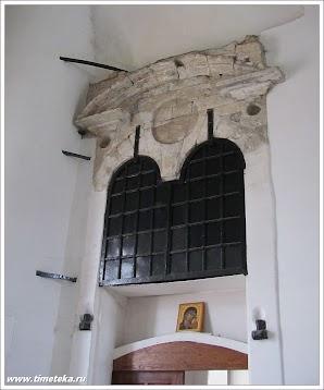 Часть внутренней стены. Никольский собор.