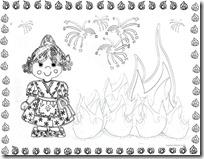 Colorear Fallas Pintar Falles Dibujos Colorear