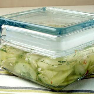 Spicy Cucumber Relish.