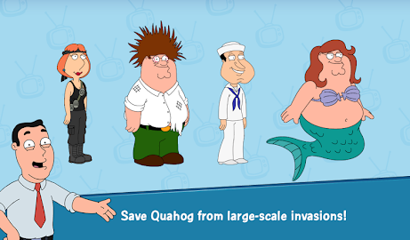 Family Guy The Quest for Stuff Screenshot 14