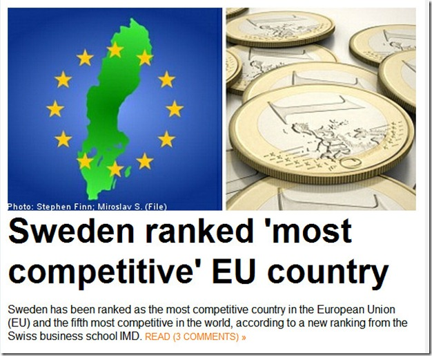 competitive Sweden