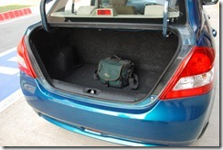swift dzire storage-dicki