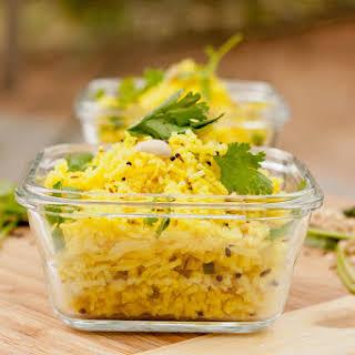 Indian Lemon Rice.