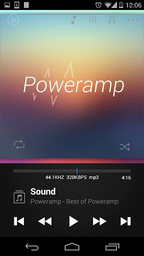 玩音樂App|Poweramp skin Dark 2in1免費|APP試玩