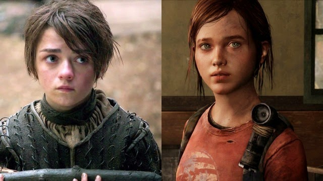 Arya Stark de Game of Thrones en la película The Last of Us