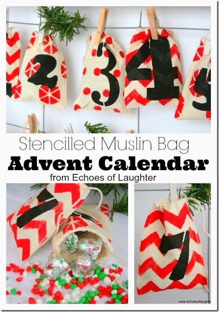 Muslin Bag Advent Calendar