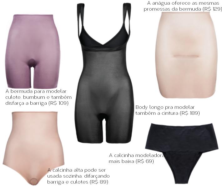 731cd97bd hope lingerie modeladora barriga culote