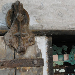 Original Door Hinges from Eastern State Penitentiary