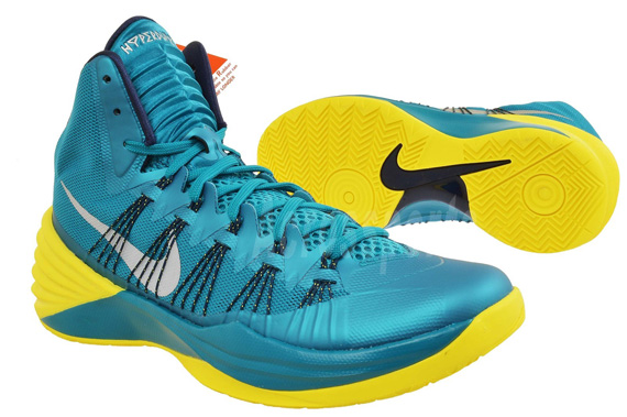 new product afea9 e97d3 shop nike lunar hyperdunk 2013 mineral teal green glow 91510 0894f   discount code for hyperdunk 2013 blue and yellow 5ad27 82803
