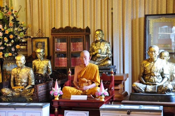 Imagini Thailanda: Calugar buddhist in templul Wat Phra Singh din Chiang Mai, THailanda