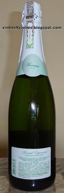 garrafa moscatel