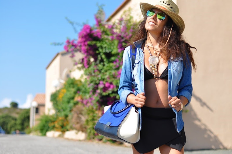 outfit, corsica, summer 2013, fashion blog, australian hat, cowgirl, cowboy,  fashion bloggers, street style, zagufashion, valentina coco