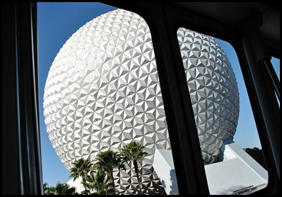 01 - Monorail to epcot - golf ball