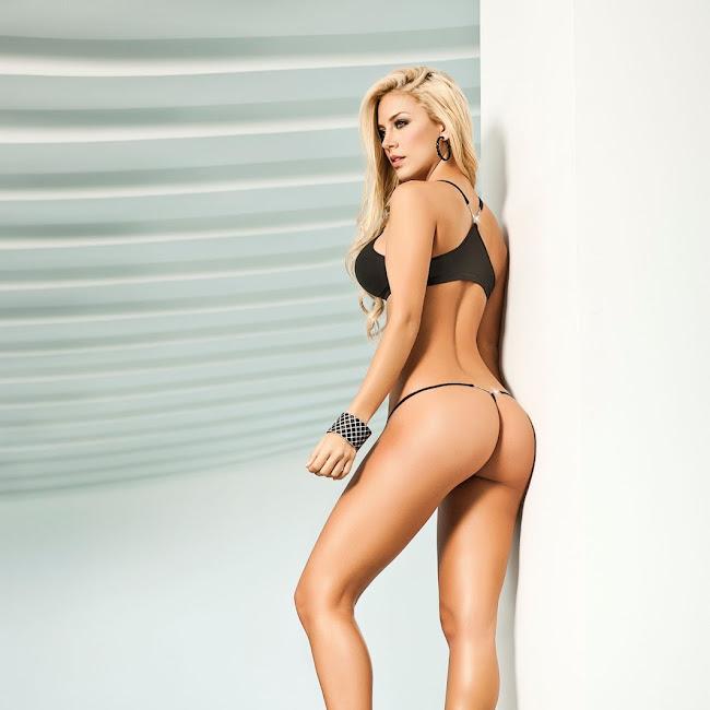 Lina Posada Sexy Fotos Catalogo Besame 2012 Foto 57