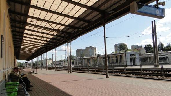 Estação de Trem em Vilnius