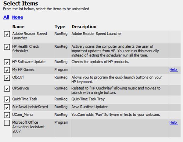 utilitaire de désinstallation logiciel inutile pc neuf