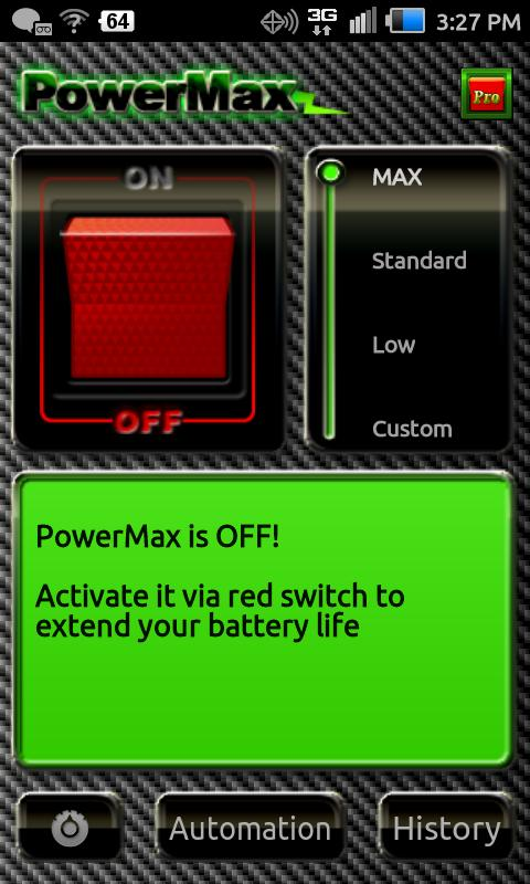 PowerMax - screenshot