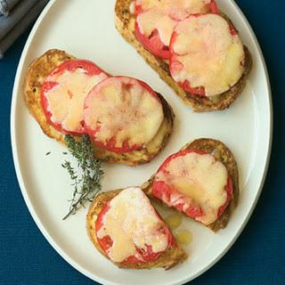 Tomato Breakfast Toasts.