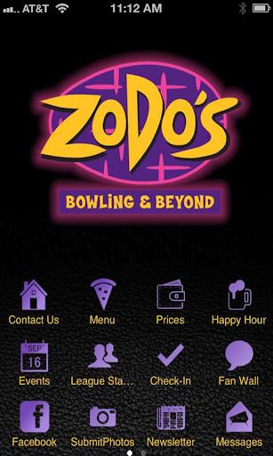 Zodos Bowling Beyond