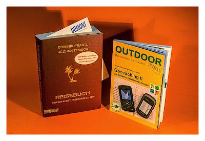Die Bücher Reisebuch und Geocaching II werden hier verlost