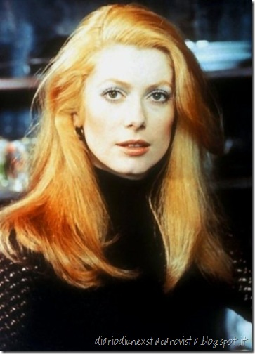 Catherine deneuve natural hair