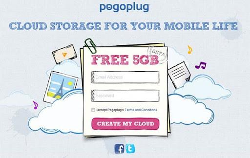 Pogoplug – 5GB gratis