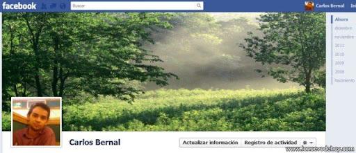 Cómo personalizar el linetime de Facebook