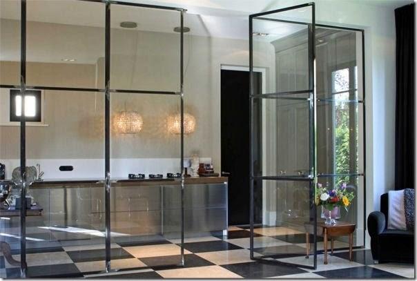 Cucine e pareti vetrate case e interni - Cucine con vetrate ...