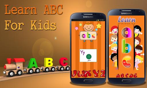 學習ABC的孩子們