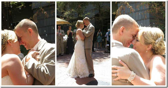 First Dance Collage