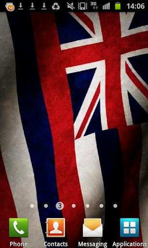 Hawaii Flag Live Wallpaper
