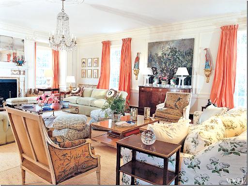 Finally u2013 Tory Burchu0027s living room has