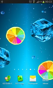 Juice PRO live wallpaper screenshot