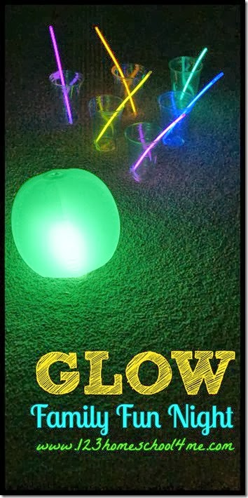 Glow in the Dark Family FUn Night